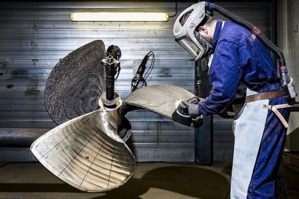 3D printed propeller WAAM DED