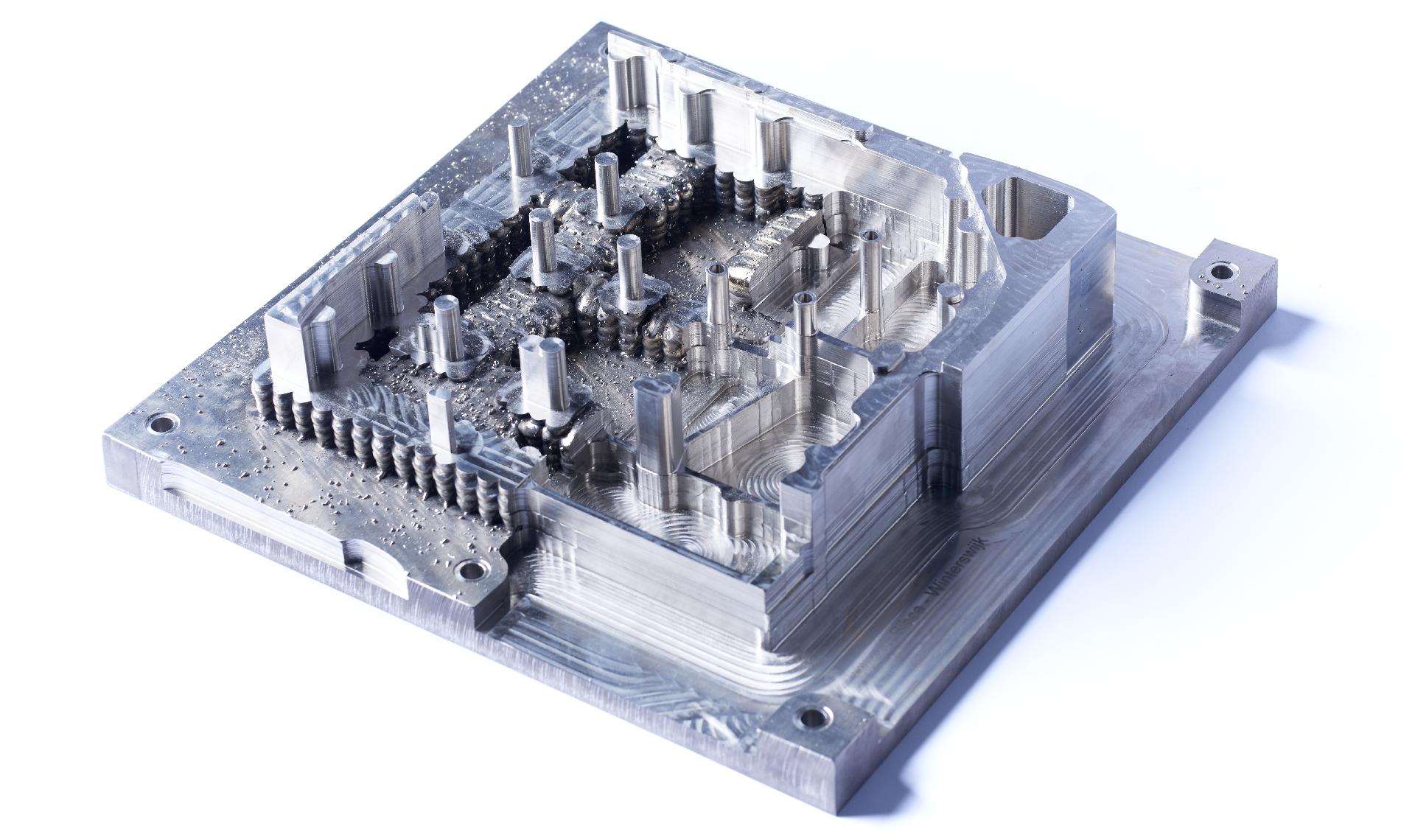 Waam printed titanium