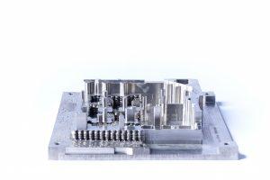 Titanium part post processing