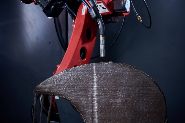 MaxQ waam repair welding blade 3D printed metal