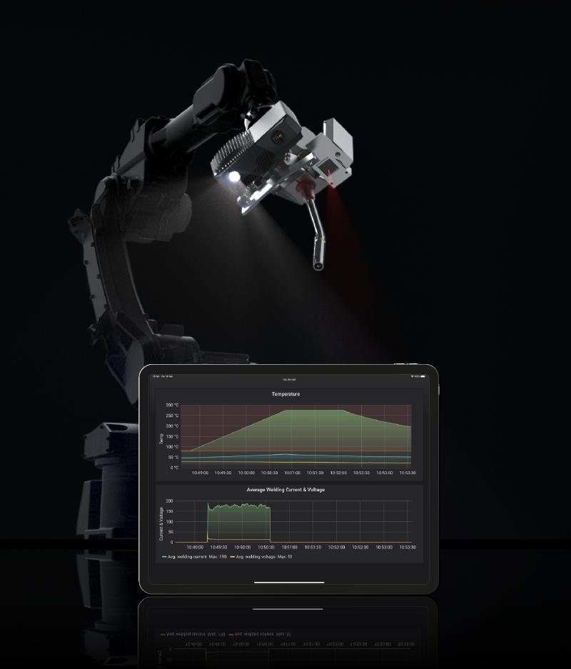 WAAM machine Monitoring and Control