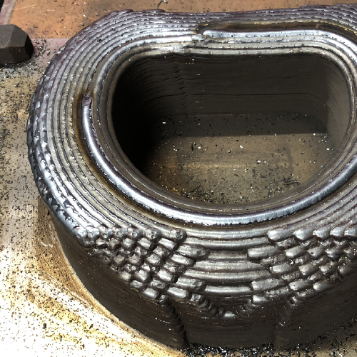 WAAM Materials S690 Additive manufacturing
