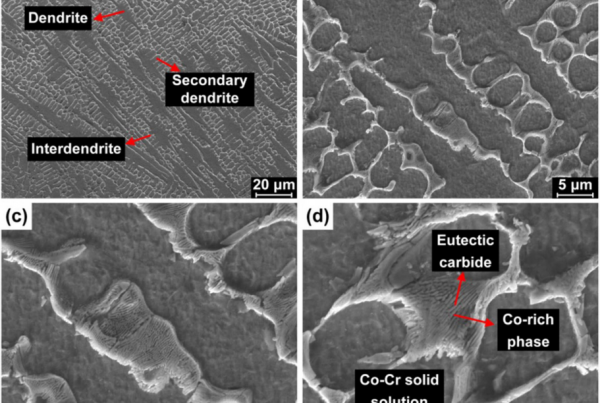 stellite microstucture additive manufacturing WAAM